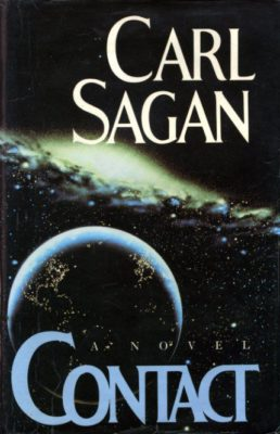 Carl Sagan Contact cover