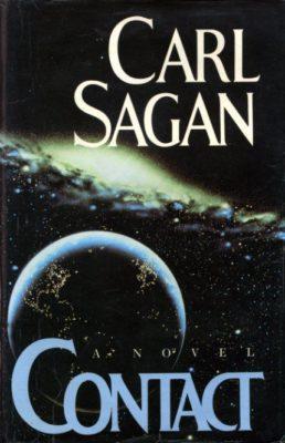 Carl Sagan Contact cover